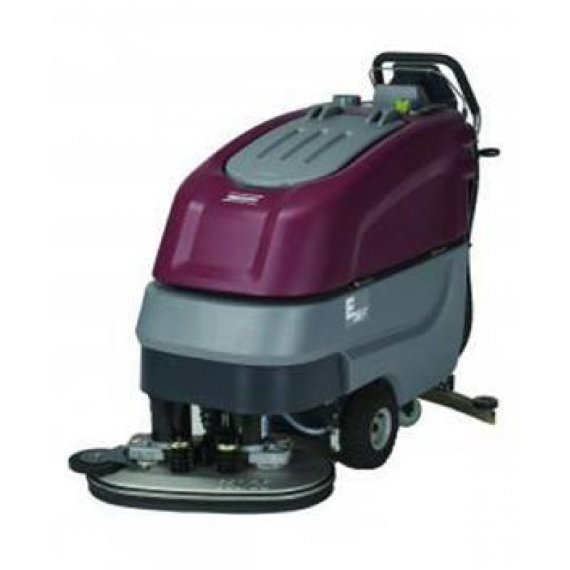 Minuteman 26 inch self propelled automatic floor scrubber for Floor scrubber