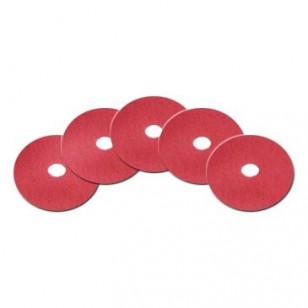 10 inch Red Floor Buff Pads
