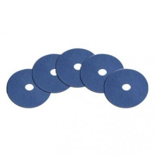 20 inch Medium Duty Blue Floor Cleaning Pads