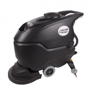 20 inch Walk Behind Scrubber, Battery-Powered