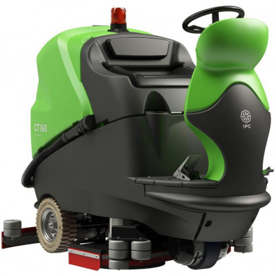 Warehouse Rider Floor Scrubber