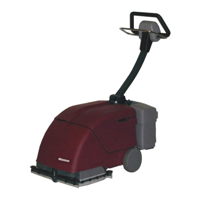 Battery Powered Restroom Scrubber