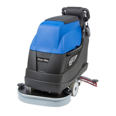 "Powr-Flite® Predator 24"" Traction Drive Automatic Floor Scrubber w/ Pad Drivers"
