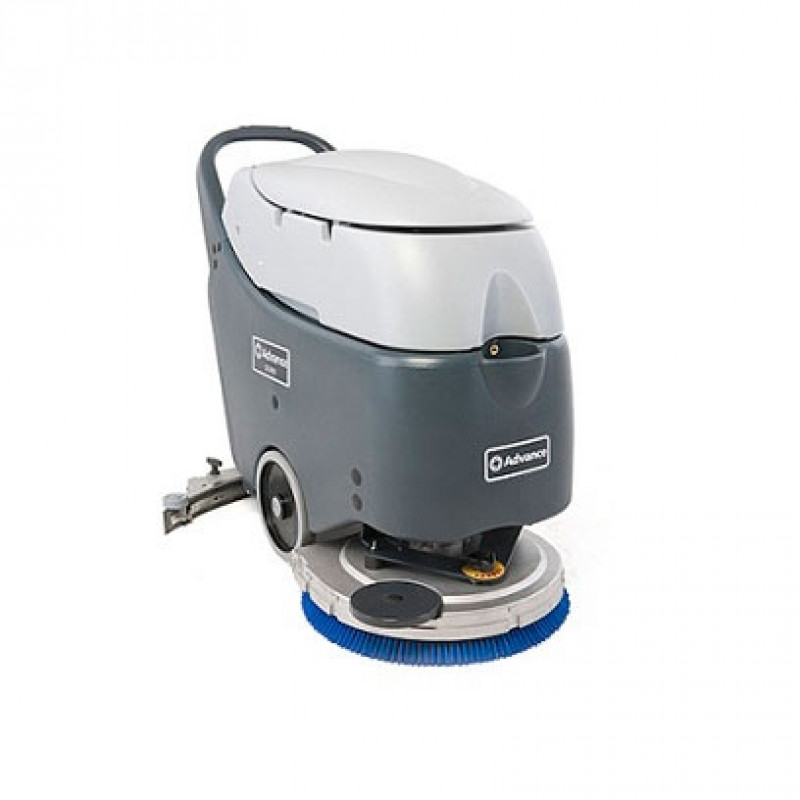 Advance Sc450 Battery Auto Scrubber With Splash Skirt And
