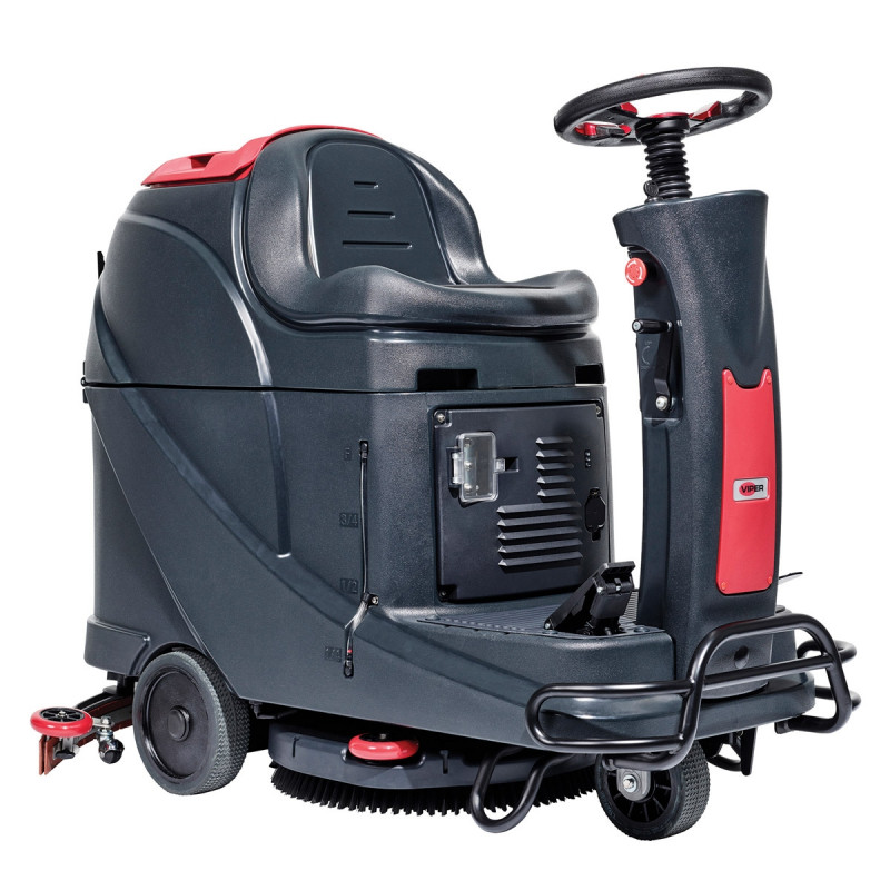 Viper 20 Inch Automatic Floor Scrubber Rider W Traction