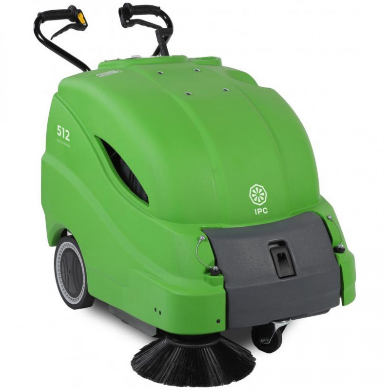 Ipc Eagle 512 Walk Behind Vacuum Sweeper For Large Areas