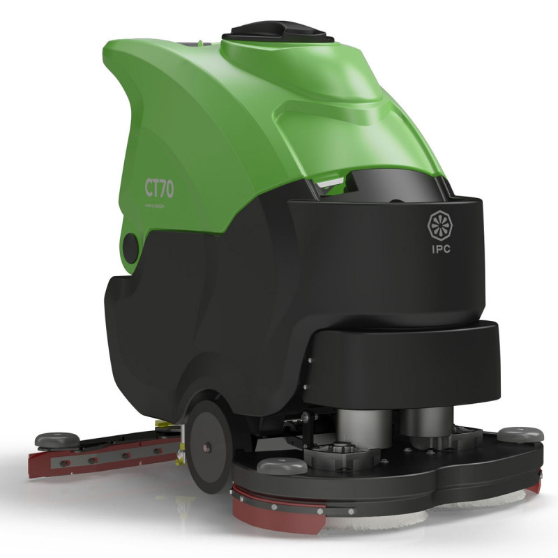 Ipc Eagle Ct70 Battery Powered Auto Scrubber 24 Inch