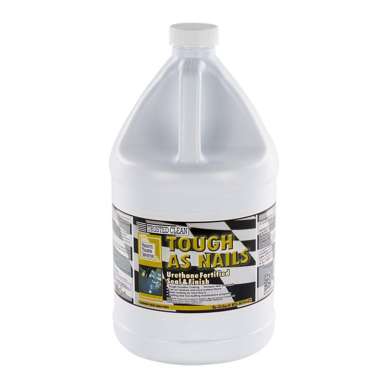 Tough As Nails Extremely Durable Finish For Vinyl Terrazzo Floors 22 Solids 2 Gallons