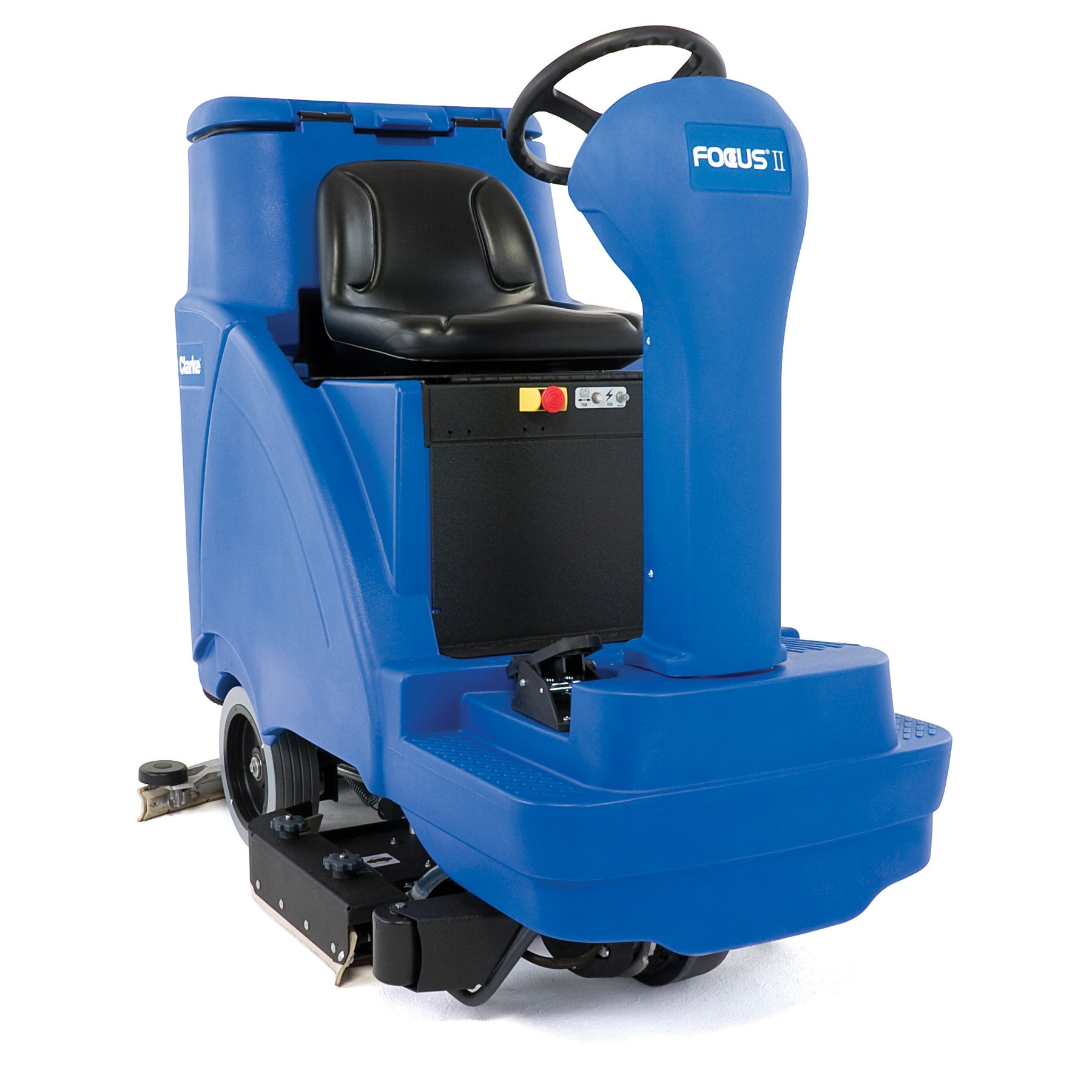 Clarke focus ii ride on automatic floor scrubber 31 for Floor scrubber