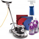 "17"" Floor Buffer Floor Scrubbing Package"