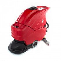 The Advantage 20 inch Red Automatic Floor Scrubber (Battery Powered)
