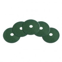 15 inch Low Speed Floor Buffer Green Pads