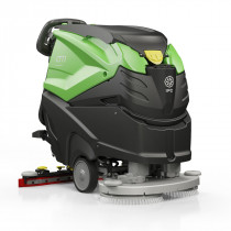 "IPC Eagle CT71XP 600 RPM High Speed 28"" Automatic Floor Polisher & Scrubber - 19 Gallons"