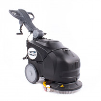 14 Inch Reliable Compact Walk Behind Floor Scrubber with battery