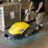 Warehouse Concrete Sweeper - in action