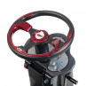 "Viper AS850R 32"" Rider Floor Scrubber - Stearing Wheel"